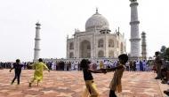 ताजमहल घूमने के लिए आज आगरा में यूपी के मुख्यमंत्री योगी आदित्यनाथ
