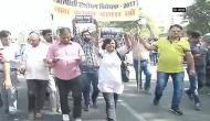 Jaipur: Journalists protest against Criminal ordinance