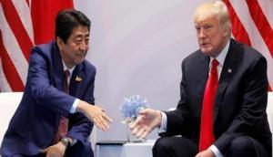 Donald Trump congratulates Japan PM Shinzo Abe on electoral victory