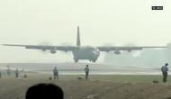 20 IAF aircrafts touchdown drill on Lucknow-Agra Expressway