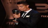 Cristiano Ronaldo wins 'The Best FIFA Men's Player' award