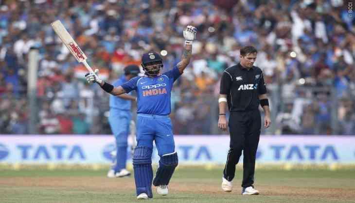 india vs new zealand 2nd odi kiwis win toss elect to