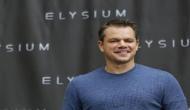 Matt Damon speaks on allegations against Weinstein