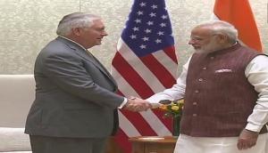 PM Narendra Modi meets U.S. Secretary of State Rex Tillerson