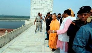 Assault on Swiss tourists puts Adityanath on the defensive during his Taj Mahal visit