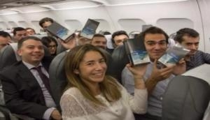 You may just get lucky and get Samsung Galaxy Note 8, if you are planning to fly soon!