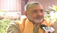 Government must formulate law to curb population: Union Minister Giriraj Singh