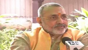 BJP leader Giriraj Singh prefixes 'gotra' Shandilya to his name
