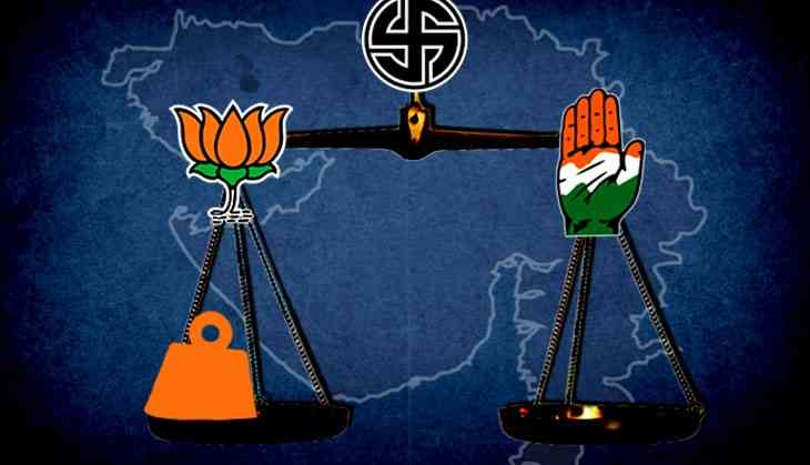 Divide & (try to) rule: Poll announcements lead to spurt in circulation of communal messages