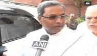 KJ George need not resign from cabinet: Siddaramaiah
