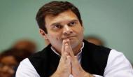 राहुल की ताजपोशी पर कांग्रेस मुख्यालय में जमकर मना जश्न