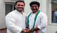 Former TDP leader Revanth Reddy joins Congress in Delhi