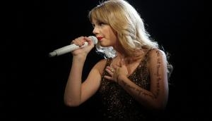 American music sensation Taylor Swift gets emotional on sexual assault verdict anniversary