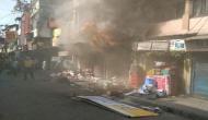 Fire breaks out in shoe store in Dehradun