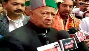 Himachal CM Virbhadra Singh taunts PM Modi over Prem Kumar Dhumal
