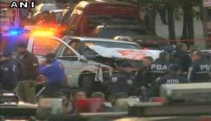 Truck attack in Manhattan kills 8, Mayor dubs it as 'act of terror'