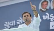 गुजरात में राहुल गांधी बोले, वोटिंग के दिन भाजपा को लगेगा करंट