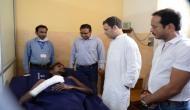 NTPC हादसे में 30 की मौत, घायलों से मिले राहुल, पीएम ने किया मुआवजे का एलान