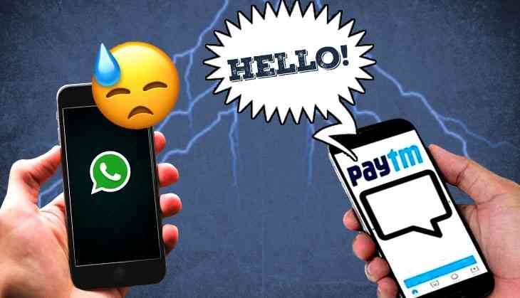 Paytm introduces messaging feature 'Inbox' just as WhatsApp goes down