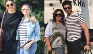 शाहरुख ख़ान की बर्थडे पार्टी में सिद्धार्थ की टीशर्ट पहने दिखीं आलिया