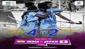 महिला एशिया कप हॉकी के फाइनल में पहुंचा भारत, चीन से होगा खिताबी मुकाबला