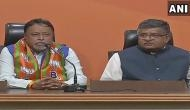 Former TMC leader Mukul Roy joins BJP