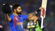 Ahead of the 3rd T20I match, Virat Kohli supported Kerala Police's campaign and the crowd went mad