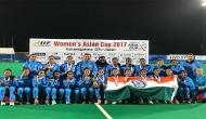 Hockey India rewards Indian eves post Asia Cup triumph