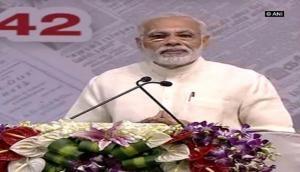 Media is a mean of transforming society: PM Narendra Modi