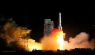 China launches navigation satellites