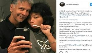 Milind Soman unfazed by trolls, and here's how!