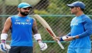 You will be shocked to know what Virat Kohli said about MS Dhoni