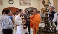 राहुल गांधी ने अक्षरधाम मंदिर में पूजा के साथ की गुजरात दौरे की शुरुआत