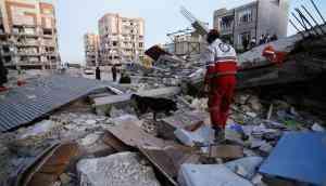 Iran-Iraq quake kills over 220. Nearly 6k injured