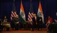 पीएम मोदी ने अमेरिका के राष्ट्रपति ट्रंप से की मुलाकात