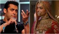 Salman Khan supports Padmavati, says we have censor board for it