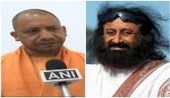 Yogi Adityanath's picture with Sri Sri Ravi Shankar goes viral. Here's why