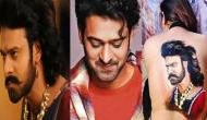 Crazy fan girl painted Prabhas' Baahubali poster on her bareback, pic goes viral
