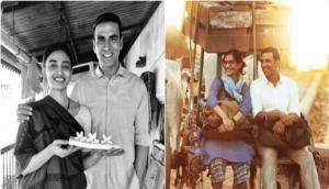 Padman: Two stills from Akshay Kumar, Sonam kapoor and Radhika Apte film out today
