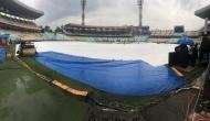कोलकाता टेस्ट में बारिश ने डाला खलल, नहीं हो सका टॉस