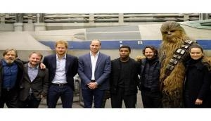 Prince William, Harry 'Star Wars' cameo roles revealed