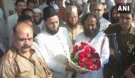 Ram Janmabhoomi-Babri Masjid dispute: Sri Sri Ravi Shankar meets AIMPLB's Khalid Rasheed