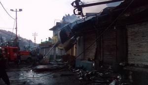 Darjeeling: Six shops gutted in fire