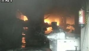 Punjab: Fire breaks out in plastic manufacturing factory