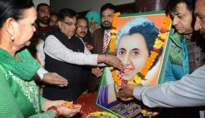 Indira ignored: BJP belittles other icons as it has none of its own