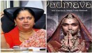 Rajasthan CM Vasundhara Raje joins anti-Padmavati league