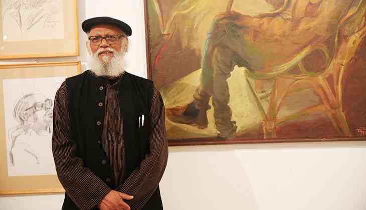 In Photos: Delhi's Lalit  Kala Akademi exhibits hundreds of portraits by Jatin Das