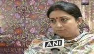 SC issues notice to Smriti Irani on Sanjay Nirupam's plea