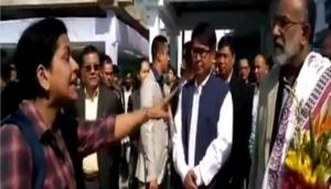 Video: Woman doctor blasts on Union minister after her flight delayed due to his visit