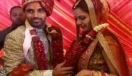 VIDEO: गर्लफ्रेंड को शादी के जोड़े में देख शर्माए भुवनेश्ववर कुमार